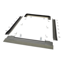 Viridian Clearline Fusion F16 Portrait Roofing Kit - Single Panel Flashing