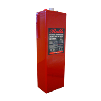 Rolls RB-S2-280GEL- 2V 376Ah Regulated Battery