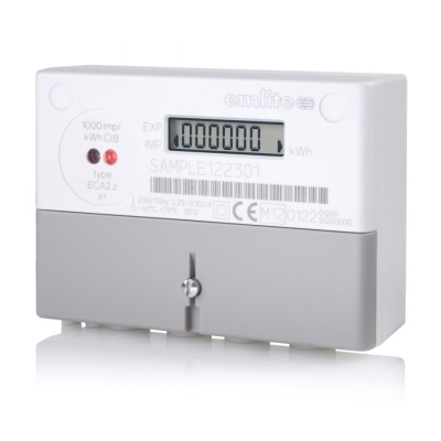 Emlite Single Phase Meter 100A (Pulsed) with Extended Cover