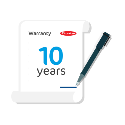 Fronius Primo/Symo 3-6kW Warranty Plus Extension to 10 Years