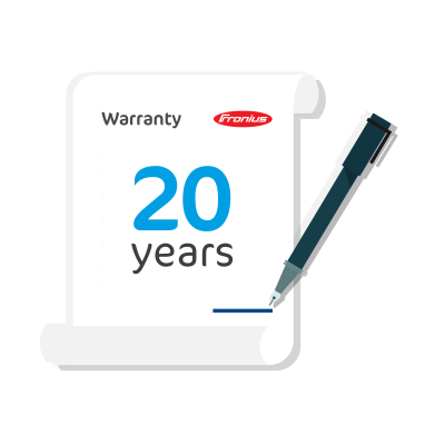 Fronius Primo/Symo 3-6kW Warranty Plus Extension to 20 Years