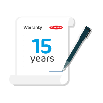 Fronius Symo 10-12.5kW Warranty Plus Extension to 15 Years