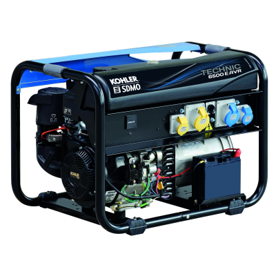 KOHLER-SDMO Technic 6500 A AVR Electric UK Petrol Kohler CH440 6.5kW Generator