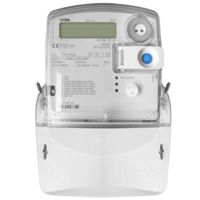 Iskra Three Phase Meter 120A (Pulsed)