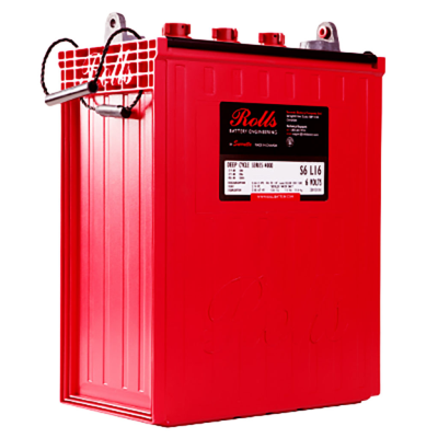Rolls RB-S6 L16-SC - Flooded Deep Cycle Battery