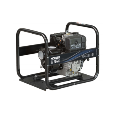 "KOHLER-SDMO TRASH3 - H/Duty Diesel 3"" Trash Pump Diesel Kohler KD350"