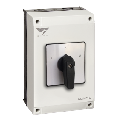 IMO Stag Changeover Switch 100A - 4 Pole