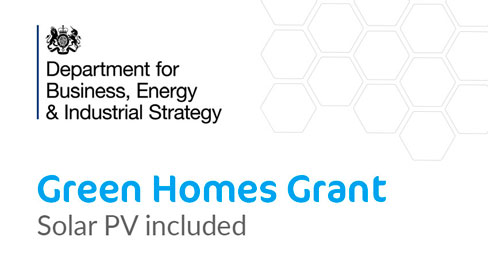 Solar PV has been included in the Green Homes Grant